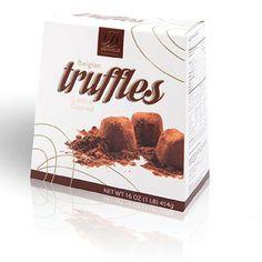 Chocolate Belgian Truffles Donckels - 1 Pound Box: Amazon.com: Grocery & Gourmet Food