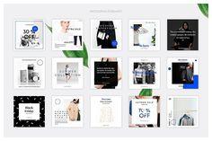 Fashion Social Media Pack by Uidea on @creativemarket