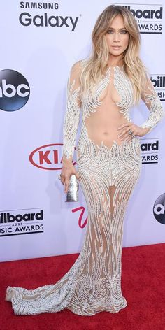 See All the Hottest Looks from the 2015 Billboard Music Awards - Jennifer Lopez from #InStyle