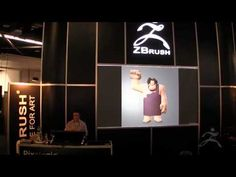 Character Creation Workflow from Disney Animation Studios (ZBrush) at SIGGRAPH 2013 (Part 1)