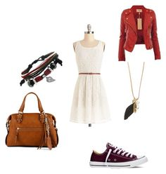"""Unbenannt #655"" by midnightsdream ❤ liked on Polyvore featuring Converse, Gioelli and ALDO"