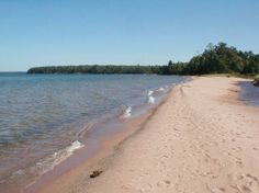 Apostle Islands National Lakeshore: Little Sand Bay beach
