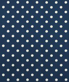 Premier Prints Ikat Dots Sunshine/Blue Natural