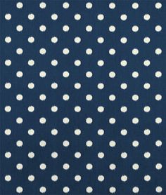 Premier Prints Ikat Dots Sunshine/Blue Natural Fabric, Possible fabric for seats of dinning chairs.