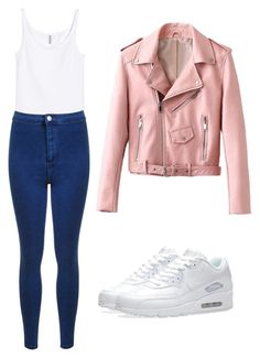 """""""outfits para la universidad"""" by paola-oliveros on Polyvore featuring Miss Selfridge and NIKE"""