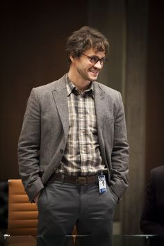 Hugh Dancy as Will Graham / plaid shirt