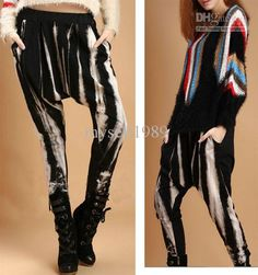 Free shipping, $16.34/Piece:buy wholesale Fashion Baggy Harem Pants Hip-hop Pad Dyeing Yoga Gypsy Capri Casual Trousers Shipping With Tracking Number from DHgate.com,get worldwide delivery and buyer protection service.