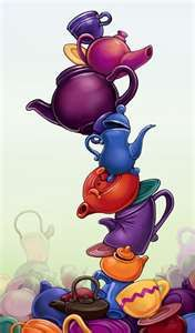 Tower of Teapots