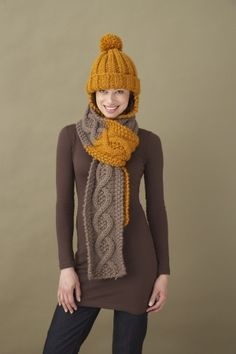 Image of Learn To Cable Scarf