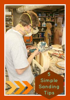 5 sanding tips for projects tipsaholic.com #building #diy #sanding http://tipsaholic.com/5-simple-sanding-tips/ ‎