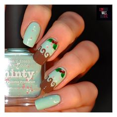 Nailpolis Museum of Nail Art | Minty Yummy! by Love Nails Etc