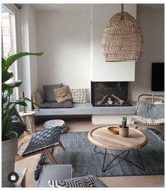 Living Room Interior, Home Living Room, Home Interior Design, Living Room Designs, Living Room Decor, Home Fireplace, Living Room With Fireplace, Fireplace Design, Fireplace Ideas