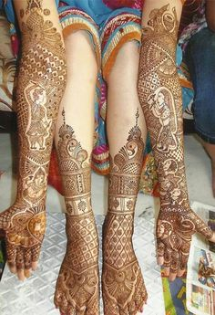 Mehndi is derived from the Sanskrit word mendhika. Mehndi Designs are also called as henna designs and henna tattoos.In Indian marriages there are so many things which are very important, in all mehndi also playing a great role in marriages. Dulhan Mehndi Designs, Mehandi Designs, Henna Mehndi, Rajasthani Mehndi Designs, Arte Mehndi, Latest Bridal Mehndi Designs, Leg Mehndi, Legs Mehndi Design, Wedding Mehndi Designs