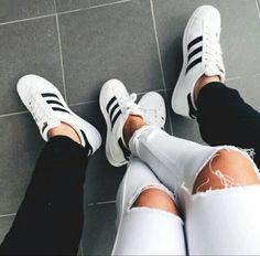 adidas, chaussure, couple, savon, relation - image #4238054 par ...