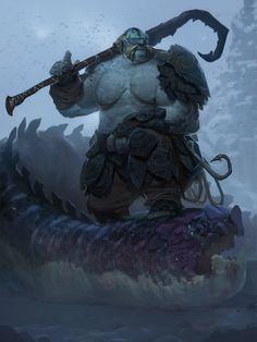 The Dragon Fisherman, Alex Konstad on ArtStation at https://www.artstation.com/artwork/the-dragon-fisherman