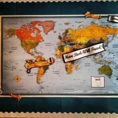 Have Book-Will Travel! Summer Reading Bulletin Board