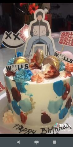 One Direction Birthday, One Direction Cakes, Harry Styles Birthday, Harry Birthday, King Birthday, 14th Birthday, Happy Birthday Me, Birthday Parties, Birthday Stuff