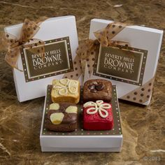 Gifts - The Ultimate Brownie Bakery and Trendsetter in Sweet Treats - Beverly Hills Brownie Company