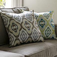 Retro Ikat Pillow - West Elm