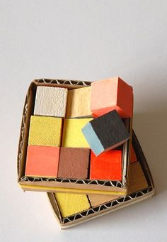 STUDIO FLUDD, RUBIK MAGNET SET: colors.