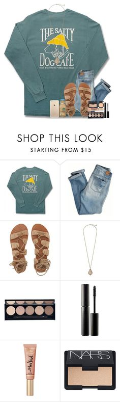 """""""I Wanna Live While We're Young"""" by theafergusma ❤ liked on Polyvore featuring Comfort Colors, American Eagle Outfitters, Billabong, Kendra Scott, Witchery, Surratt, NARS Cosmetics and MAC Cosmetics"""