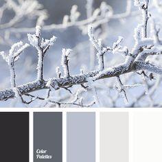 almost black, beige color, graphite gray, gray color, light gray, shades of gray, shades of winter, snow color, white color, winter color combination, winter color palette, winter color palette 2016, winter palette.