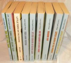 Little House on the Prairie series.   As a kid, I read 'em all more than once.  Still have the entire series packed away waiting for a new generation.