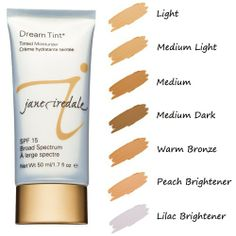 Jane Iredale Dream Tint is an oil-free, lightweight tinted moisturizer feels soothing and leaves your skin looking soft. #janeiredale #tintedmoisturizer #skincare #moisturizer #mineralmakeup #makeup #beauty @spaspringridge Northbrook, IL 847-393-4770 Wyomissing, PA 610-927-3223
