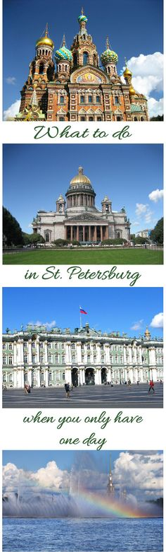Have you ever been to Russia before? If not, St. Petersburg is a great city to explore. It can be the starting point for your other Russian travels or you can go on a short city trip. Although you can easily spend 4 or 5 days in and around St. Petersburg, you might find yourself pressed for time. What to do in St. Petersburg in 1 day?