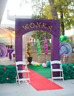 Willy Wonka Halloween Party - Parties For Pennies regarding Willy Wonka Party Decorations - Best Home & Party Decoration Ideas Willy Wonka Halloween, Willy Wonka Costume, Halloween Party, Office Halloween Themes, Halloween 2020, Party Centerpieces, Diy Party Decorations, Party Themes, Party Ideas