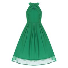 Cheronda Green Swing Dress | Vintage Styles Dresses - Lindy Bop