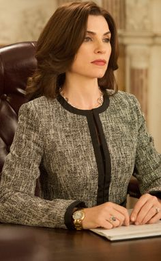 Alicia Florrick There's that look again