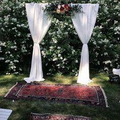 Wedding arch, Skillad floral design