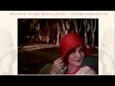 The Unsinkable Cloche Hat -  archive 1920s fashion film.  EXQUISITE!!