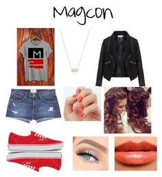 """Magon"" by dawndancer23 ❤ liked on Polyvore featuring Current/Elliott, Vans, Kendra Scott, Zizzi and Burberry"
