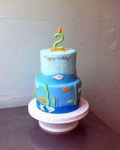 Umm... fate that this fish cake says Kieran??  Hopefully!!  <3