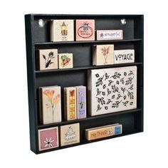 Advantus - Cropper Hopper - Stamp Shelf - Stamp Organization - Black at Scrapbook.com $7.99