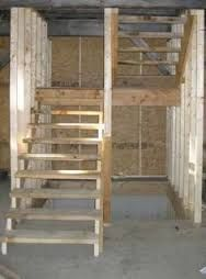 U shaped stair layout? in Timber Framing/Log construction Garage Stairs, Attic Stairs, Basement Stairs, House Stairs, Stairs Window, Attic Ladder, Attic Loft, Attic Window, Attic Renovation