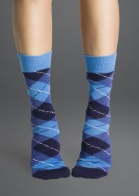 Happy Socks Argyle 02—in blue. $12