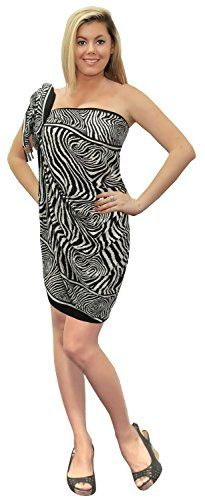 Sarong Bathing Suit Swimsuit Swimwear Beach Cover up Printed Pareo wrap Black One Size Spring Summer 2017 >>> Be sure to check out this awesome product.  This link participates in Amazon Service LLC Associates Program, a program designed to let participant earn advertising fees by advertising and linking to Amazon.com.