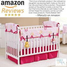 Babee Talk Crib Bedding Giveaway - Newly Crunchy Mama Of 3 Crib Rail Guard, Crib Rail Cover, Bed Covers, Nursery Bedding Sets, Crib Bedding, Under Crib Storage, Crib Sets, Little Girl Rooms, Cotton Bedding