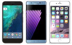 Enfrentamos al Google Pixel XL contra el iPhone 7 Plus y el Galaxy Note 7 - http://www.androidsis.com/enfrentamos-al-google-pixel-xl-iphone-7-plus-galaxy-note-7/