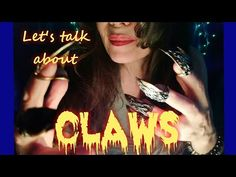 [ASMR] Let's talk about CLAWS! Hand movements and soft rambling about my polymer clay claws! Claw Rings, Let Them Talk, Let It Be, Asmr Video, Claws, Polymer Clay, Hands, Modeling Dough