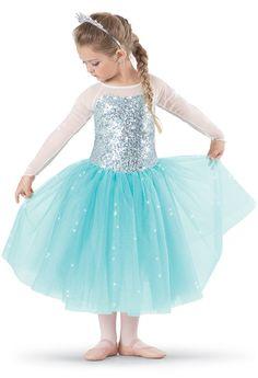 LET IT GO 8322 BY WEISSMANWeissman™ | Hologram Sequin Tulle Skirt Dress Mon 4-5