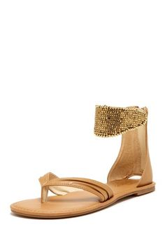 Boogie Sandal on HauteLook my life now nothing but flat... ugh