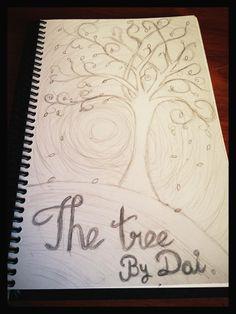 The tree. Boceto- Cositas en papel que hago para relajarme. Boceto 12/05/2012.