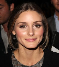Olivia Palermo, Paris Fashion Week Ready to Wear Spring/Summer 2014 - Elie Saab - Front Row, 30 September 2013 Olivia Palermo Makeup, Olivia Palermo Style, Stil Inspiration, Makeup Inspiration, Bride Makeup, Wedding Hair And Makeup, Beauty Makeup, Hair Makeup, Hair Beauty