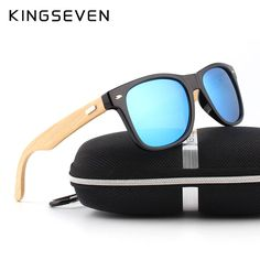 awesome Bamboo Polarized Sunglasses Men Wooden Sun glasses Women Brand Designer Original Wood Glasses Oculos de sol masculino 19.64