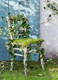 Natuurlijke stoel