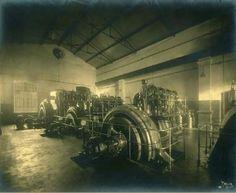 محطة توليد الكهرباء في اسيوط في عهد الملك فؤاد الأول  Reem